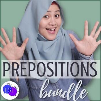Prepositions for Adult ESL bundle