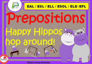Prepositions for EAL /ESL/ ELL / ESOL/ ELD/ EFL