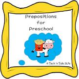 Prepositions for Preschool