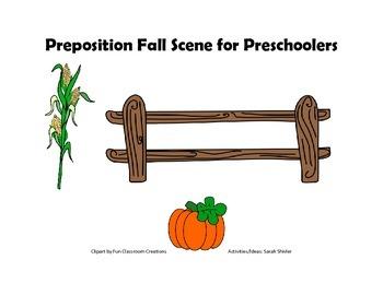 Prepositions for Preschoolers: Fall