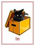 Prepositions in English Posters