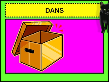 Prepositions in French power point