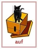 Präpositionen (Prepositions in German) Posters