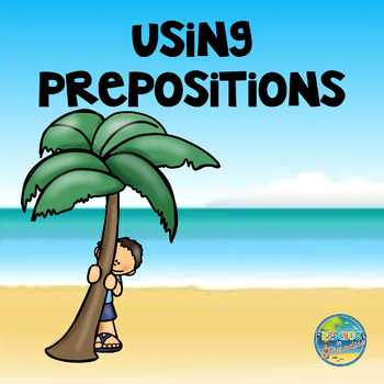 Prepositions in Preschool