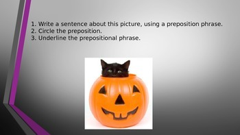 Prepositions in Sentences