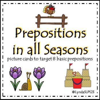 Prepositions in all Seasons