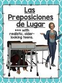 Prepositions of Location - Las Preposiciones de Lugar