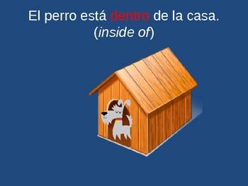 Prepositions of Location - PowerPoint