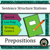 Prepositions of Location, Spanish Sentence Structure Cente