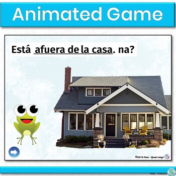 Spanish Prepositions of Location PowerPoint