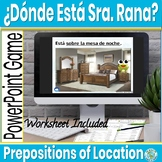 Spanish Estar Prepositions of Location PowerPoint and House Vocabulary