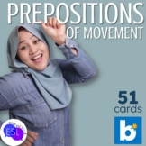 Prepositions of Movement BOOM CARDS for Distance Learning