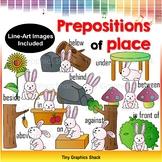 Prepositions of Place Clip Art