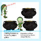 St Patrick's Day Prepositions of Place Clip Art - Commercial Use OK