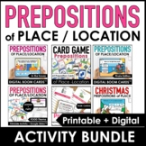 Prepositions of Place : Digital BOOM Cards™ & Printable Ac
