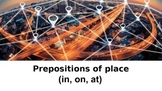 Distance Learning. Prepositions of Place; In On At.