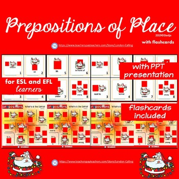 Prepositions of Place for ESL and EFL learners with a Power Point Presentation
