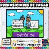 Prepositions of Place in Spanish - Boom Cards - Distance Learning
