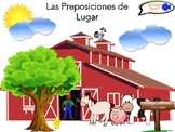 Prepositions of Place in Spanish (Visual Aid & Activity)