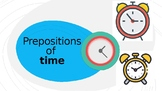 Prepositions of Time and Place Exercise