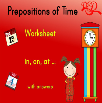 Prepositions of Times (in, on, at)
