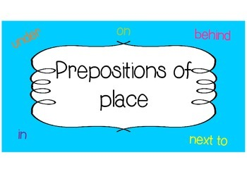 Fun prepositions game