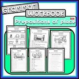 Prepositions of place - Grammar workbook