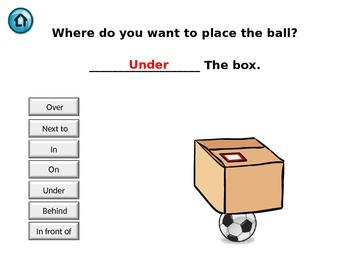Prepositions of place - Interactive presentation
