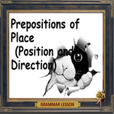 Prepositions of place – PPT and printables - elementary school and ESL students