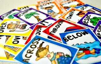Prepositions of place - Poster Set + Games