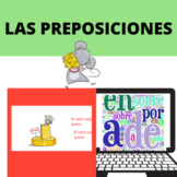 Prepositions of place /Preposiciones de lugar