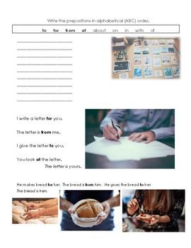 Prepositions part 1