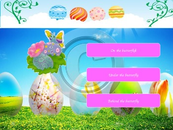 Prepositions with Easter Bunny