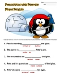 Prepositions with Pete the Pirate Penguin