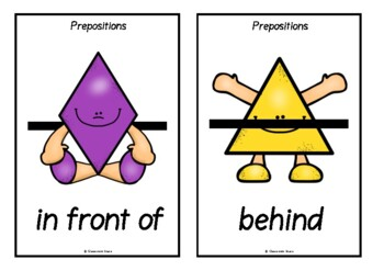 Prepositions with Shapes