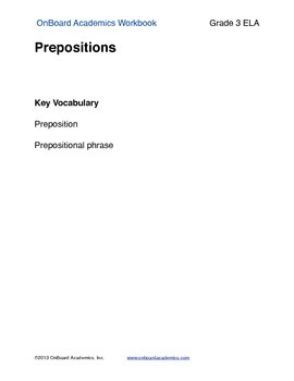 Prepositions with, at, about, for
