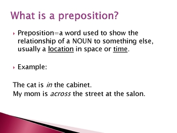 Prepositions/Phrases, Appositives, and Adjectives Out of Order PPT