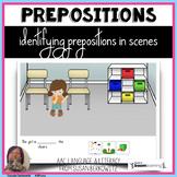 Prepositions in Scenes No Print BOOM Cards Telepractice di