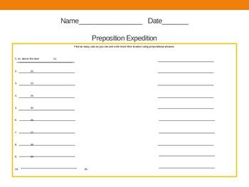 Prepostion Expedition