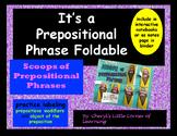 Prepostional Phrases Foldable Activity