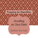 Expository Essay Preparation: Creating an Idea Bank for STAAR EOC Writing