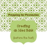 Persuasive Essay Preparation: Creating an Idea Bank for ST