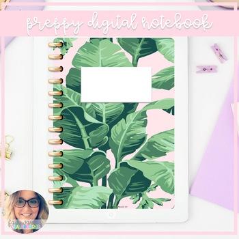 Preppy Digital Notebook
