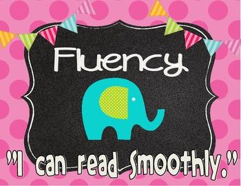 Preppy Elephant CAFE Signs