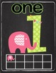 Preppy Elephant Classroom Number Signs