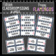 Preppy Flamingo Classroom Decor, Signs and Labels: Editable