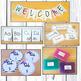 Preppy Floral Rustic Classroom Decor Theme Fully Editable