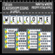 Preppy Pineapples: Editable Classroom Signs & Labels