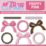 Preppy Pink Design Elements (Digital Use Ok!)