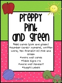 Preppy Pink and Green Alphabet and Much More
